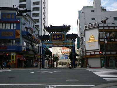 横浜中華街入口
