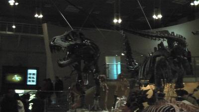 国立科学博物館のティラノザウルスの骨格標本