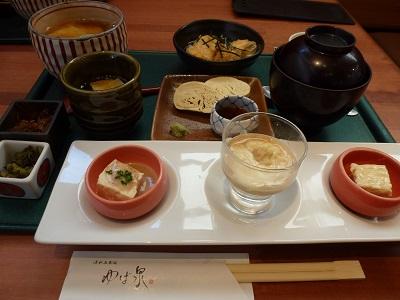 ゆば泉五条坂店の京ゆば膳