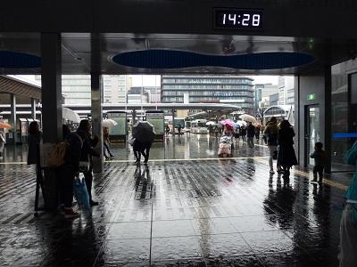 京都駅前ロータリー