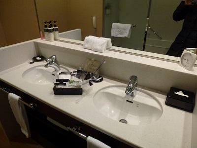 ホテルグランヴィア京都の洗面台