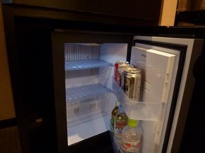 ホテルグランヴィア京都客室内の冷蔵庫