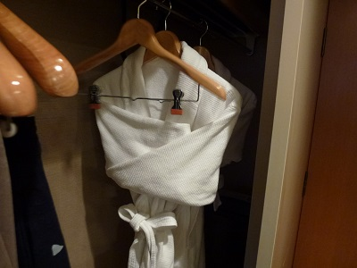 ホテルグランヴィア京都客室内のクローゼット