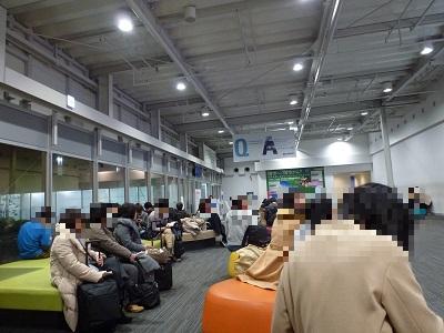 関西空港国内線出発ロビー